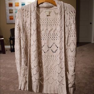 Lucky Brand Knitted Cardigan